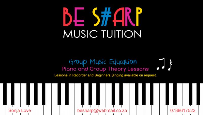 Be Sharp Music Tuition
